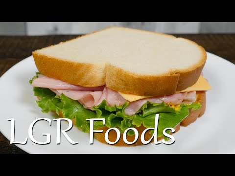 LGRwich №19 - Basic Ham And Cheese.
