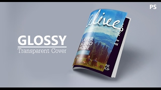 Glossy Transparent Cover | Adobe Photoshop