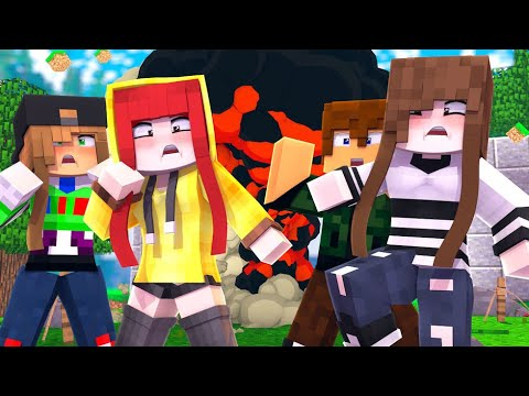 Minecraft Infinito #42 EXPLODIMOS O SERVIDOR INTEIRO! (Ft. Cherry Malena Nofaxu Matsu)