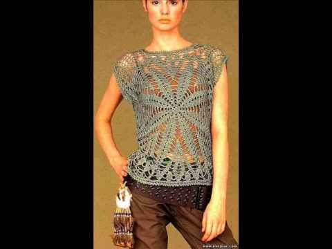How To Crochet Summer Top Tunic Free Pattern Youtube