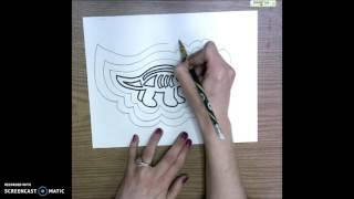 3rd Grade Aboriginal Artwork