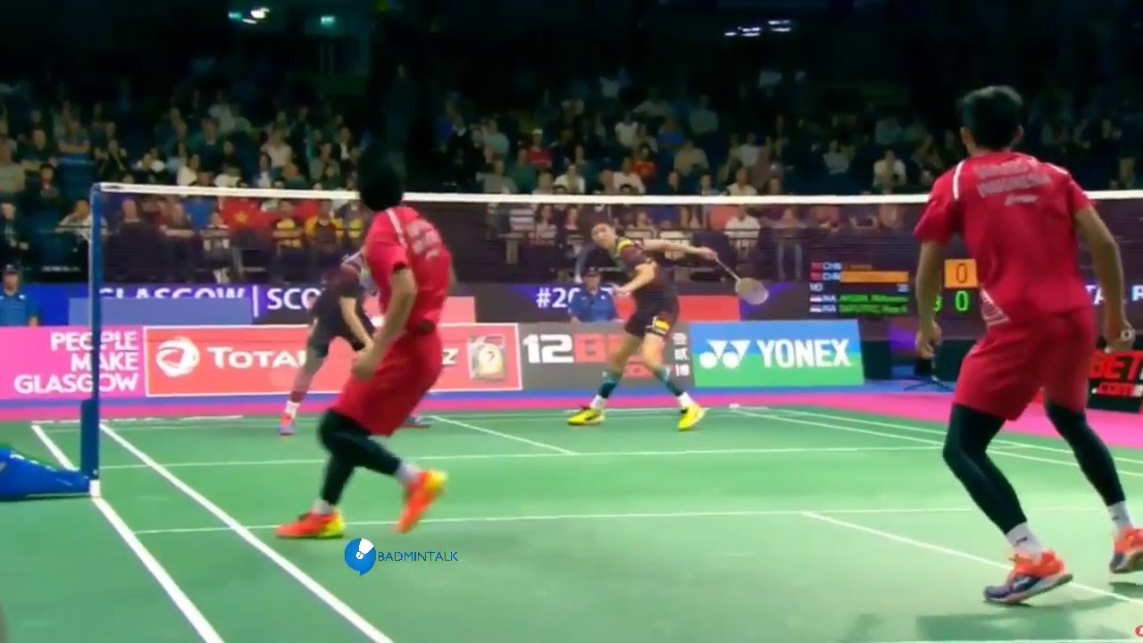 World Championships 2017 MD Day 3 Mohammad Ahsan Rian Agung