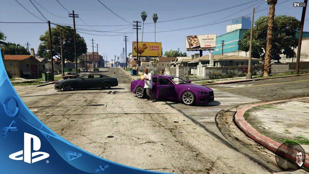 Grand Theft Auto V Experiencia En Primera Persona Ps4 Youtube