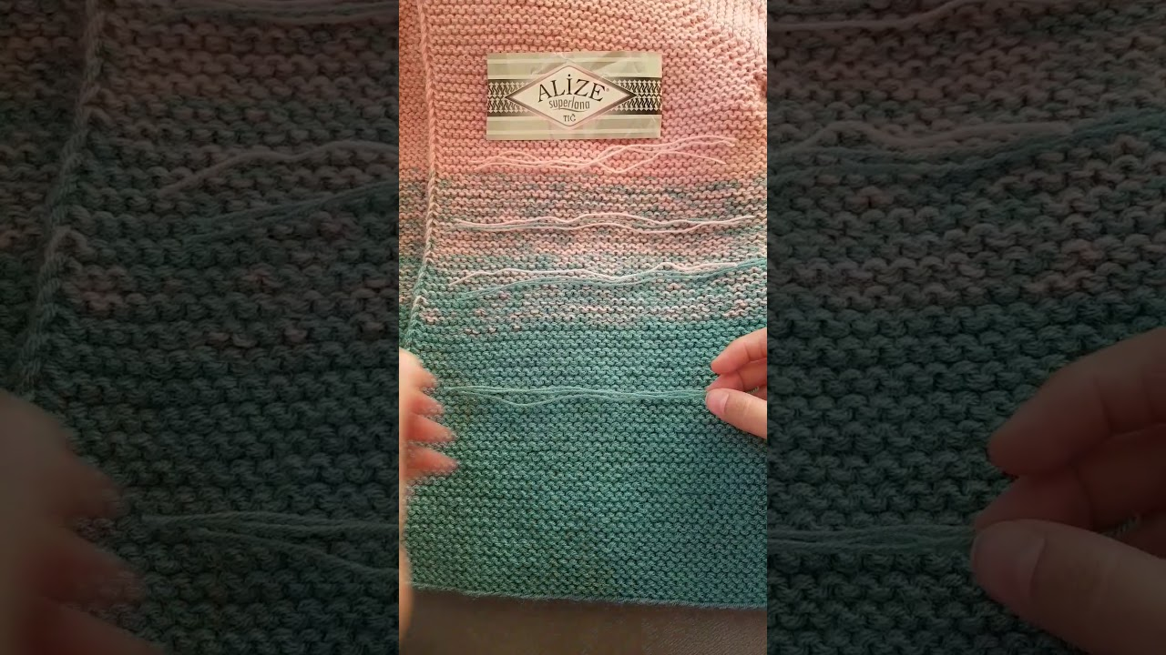 Renk Geçişli Hırka Yapımı
