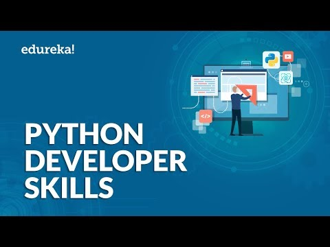 Python Developer Skills | How to become a Python Developer | Python Career | Edureka