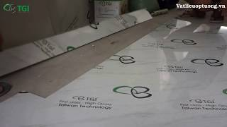 Hướng Dẫn Thi Công Tấm Nhựa Giả Đá - Đá Hoa Cương PVC Thực Tế Chi Tiết