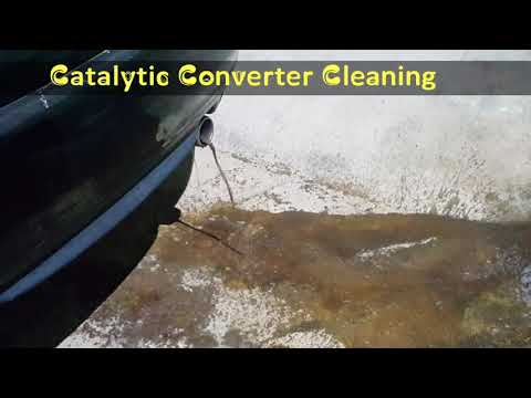 Catalytic Converter Cleaning Review Pakistan Peshawar 2018 | EP #5