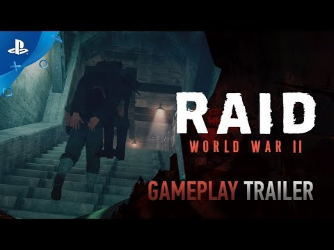RAID: World War II – Gameplay Trailer | PS4