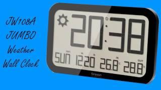 JW108A Wall Clock