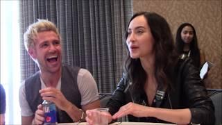 Legends of Tomorrow Season - Matt Ryan, Courtney Ford Interview (Comic Con)