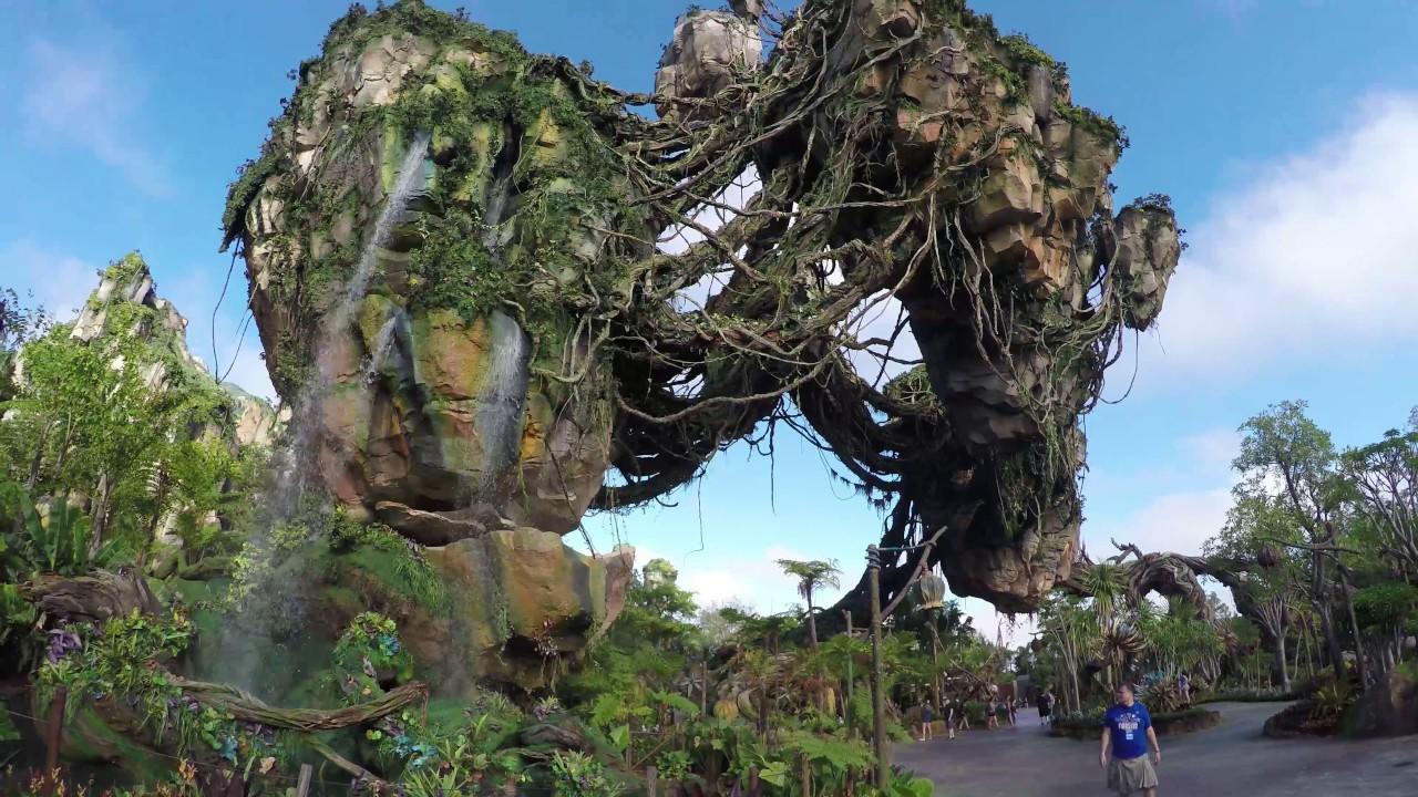 Image of: Disneys Animal 4k Full Walkthrough Of Pandora The World Of Avatar Animal Kingdom 52517 Youtube 4k Full Walkthrough Of Pandora The World Of Avatar Animal