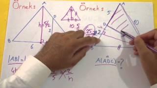 Üçgende Alan 1 Şenol Hoca Matematik