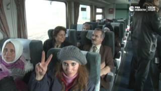 Восстановление движения поездов в Сирии