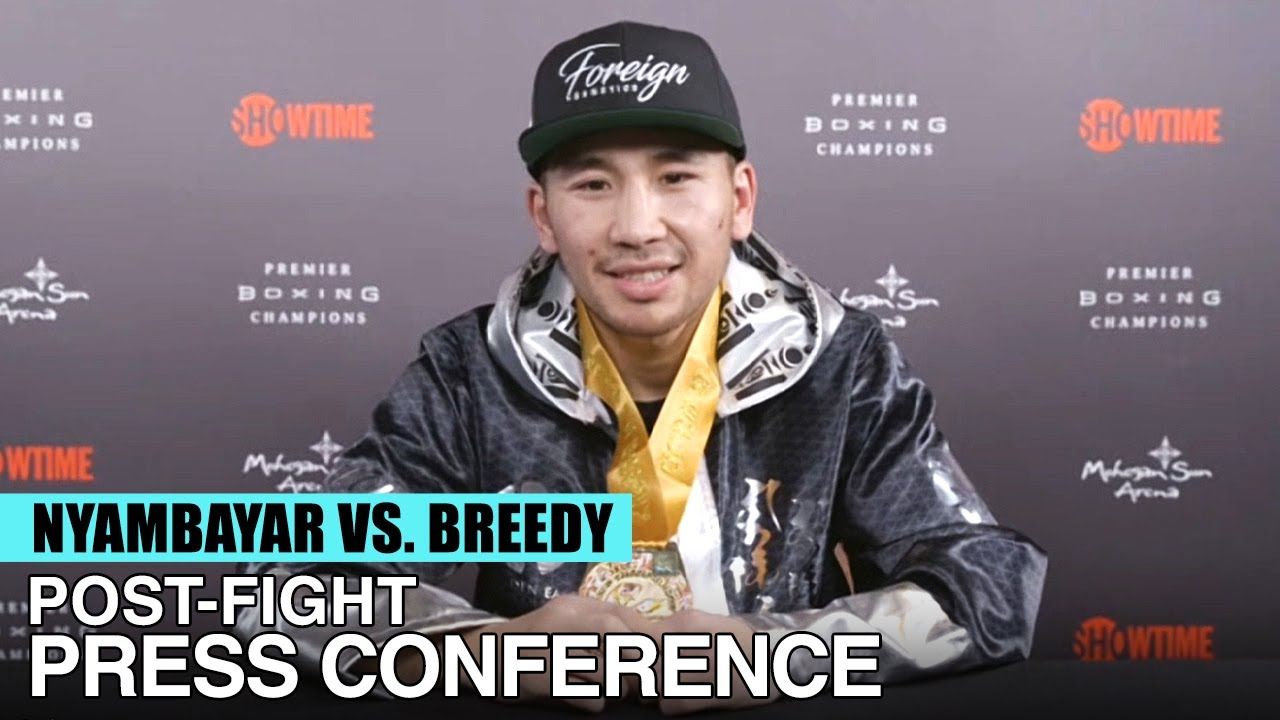MONGOLIA'S KING TUG TALKS ABOUT HIS SPLIT-DECISION WIN OVER COBIA BREEDY - FULL POST-FIGHT VIDEO