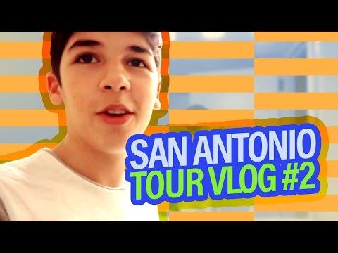 SAN ANTONIO - TOUR VLOG #2 | MARIO SELMAN