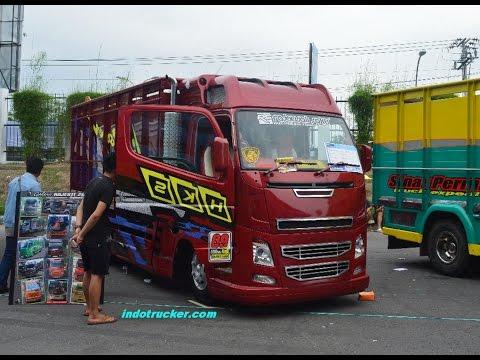 Modifikasi Truck Fuso Canter ala Volvo FH