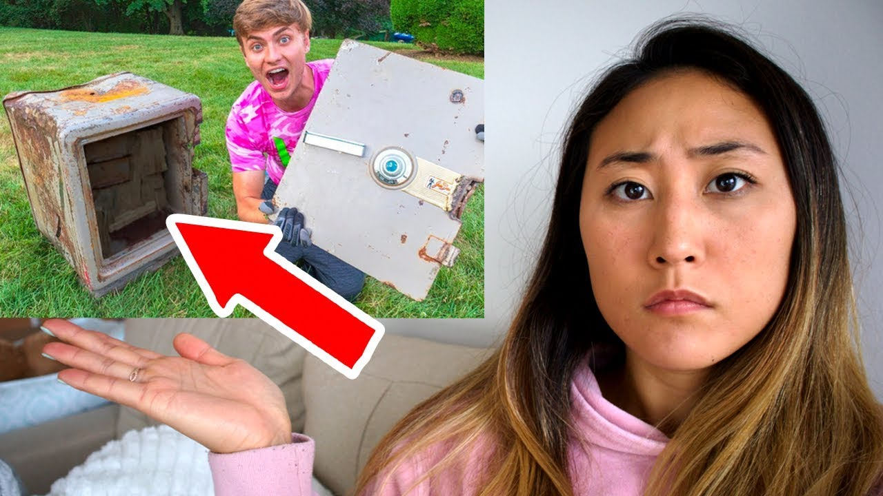 THE TRUTH ABOUT WHATS IN THE SAFE!! (EXPOSED)