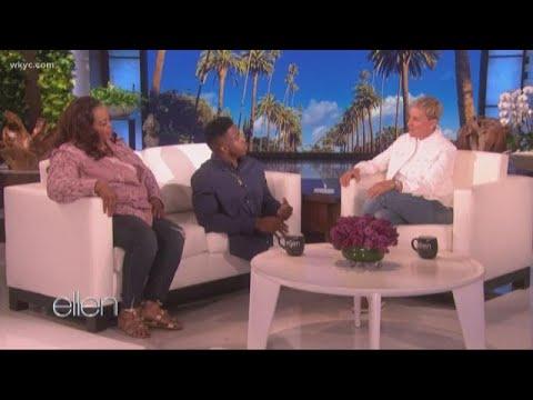 Massillon's Zion Clark talks with Ellen, surprises mother