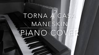 Torna a Casa Maneskin Piano Cover