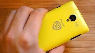 Обзор Prestigio MultiPhone 5450 Duo: яркий двухсимочник c 5 панельками