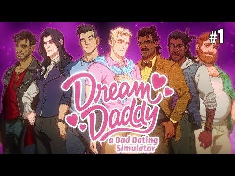 Twitch Livestream | Dream Daddy: A Dad Dating Simulator Part 1 [PC]