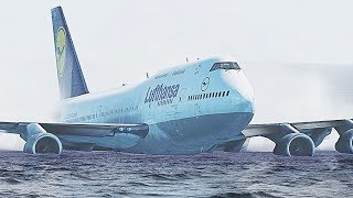 Download Lagu X-Plane 11 - Boeing 747 Water Crash Landing (HD) mp3