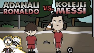 Adanalı Ronaldo vs. Kolejli Messi | Özcan Show