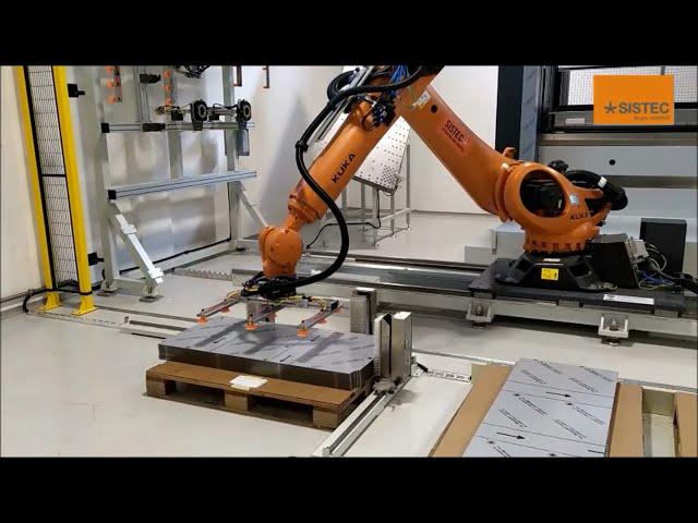 SISTEMA DI PIEGATURA ROBOTIZZATO - ROBOTIC BENDING SYSTEM