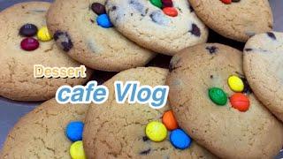 [Cafe vlog] 디저트카페 브이로그/개인카페 브이…