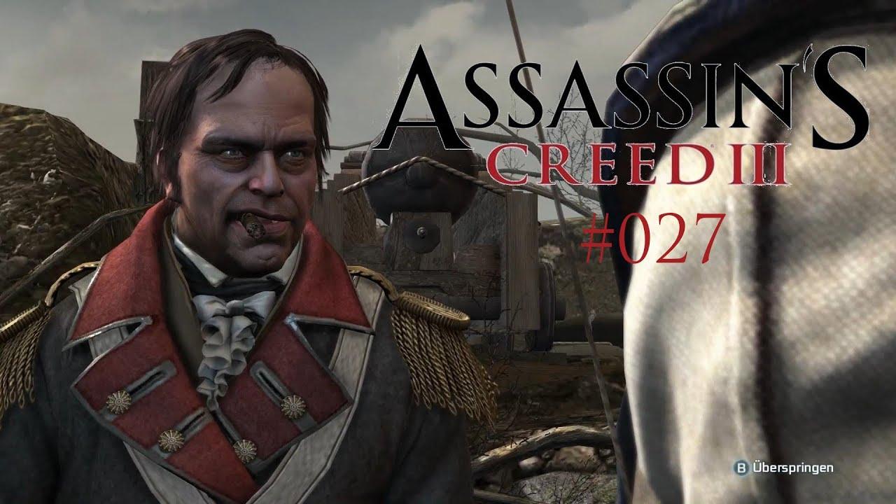 Let's Play Assassins Creed III #027 [Deutsch] [Full HD] - General Putnam