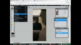 3D эффект в онлайн фотошопе.
