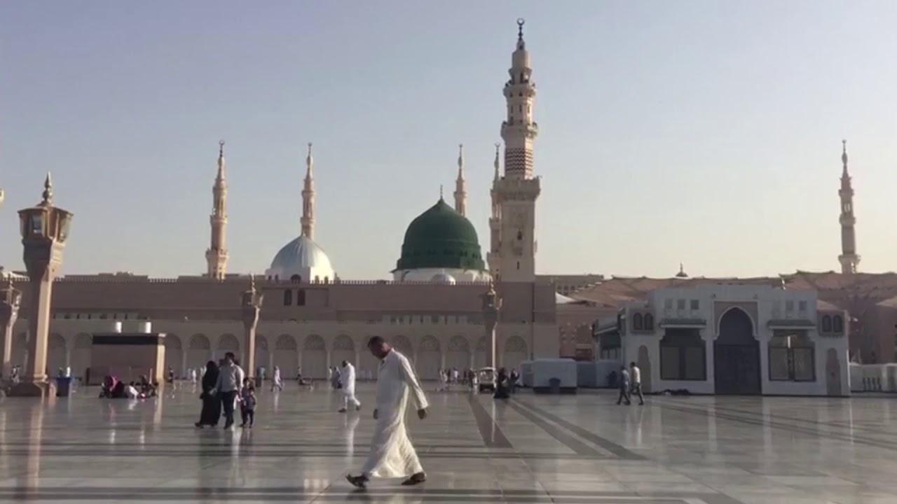 فيديو للمونتاج المسجد النبوي 7 Full Hd Youtube