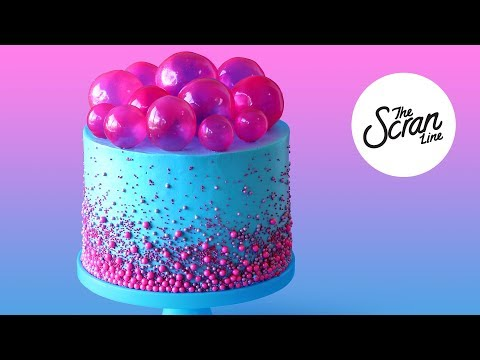 BUBBLE POP ELECTRIC CAKE- The Scran Line