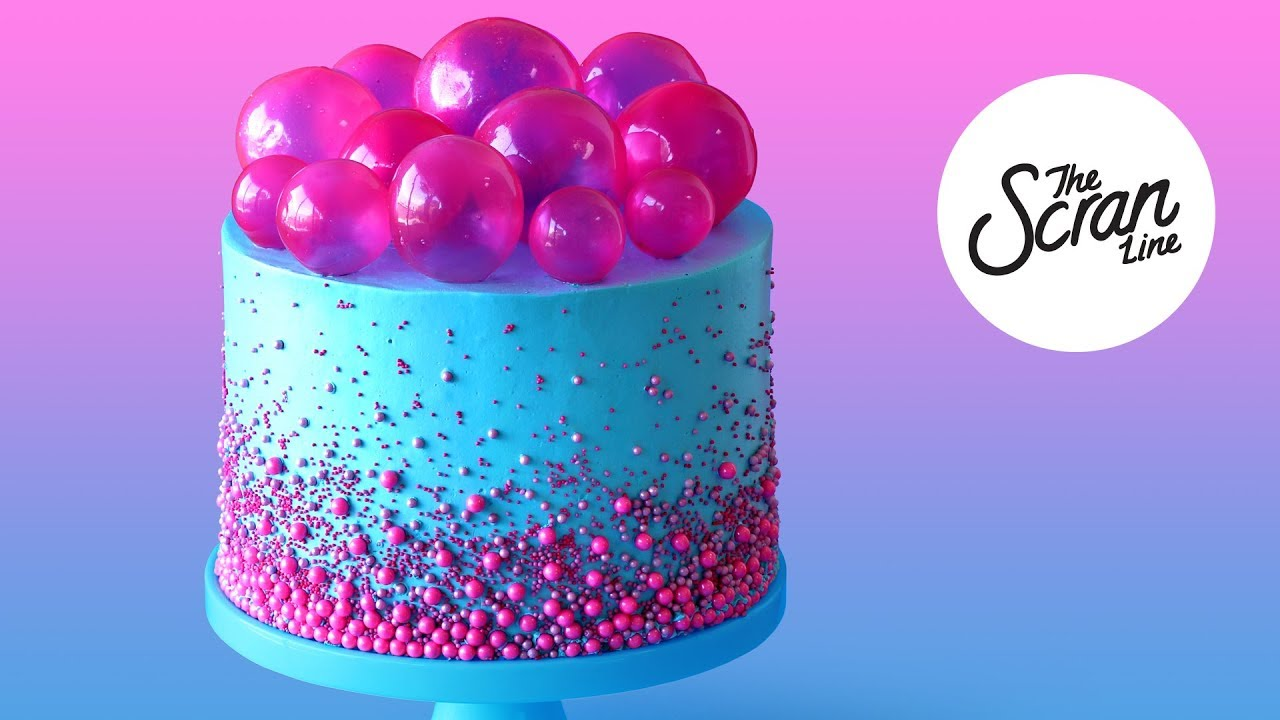 Bubble Pop Electric Cake The Scran Line Youtube