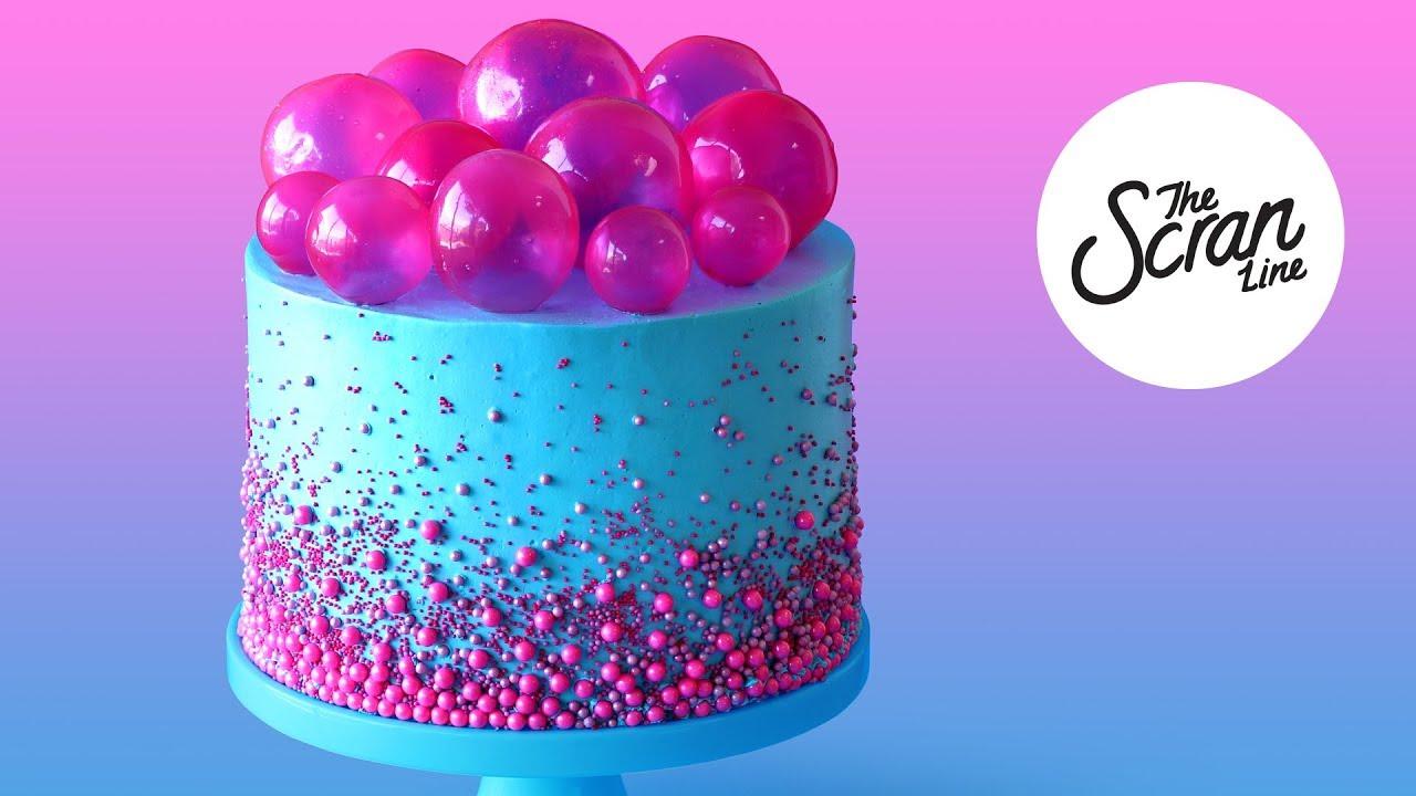 Cute Pink Girly Wallpaper Bubble Pop Electric Cake The Scran Line Youtube