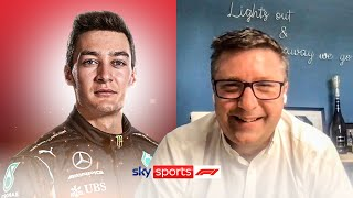 David Croft reacts to George Russell's move to Mercedes