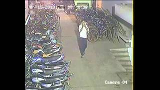 bike theft in front of cctv camera in ranchi jharkhand