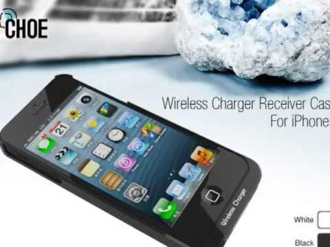 QI Standard iPhone 5S Wireless Charging Case Made by - CHOE Technology