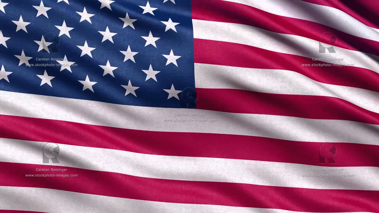 Usa flag seamless loop 1080p hd youtube Hd usa