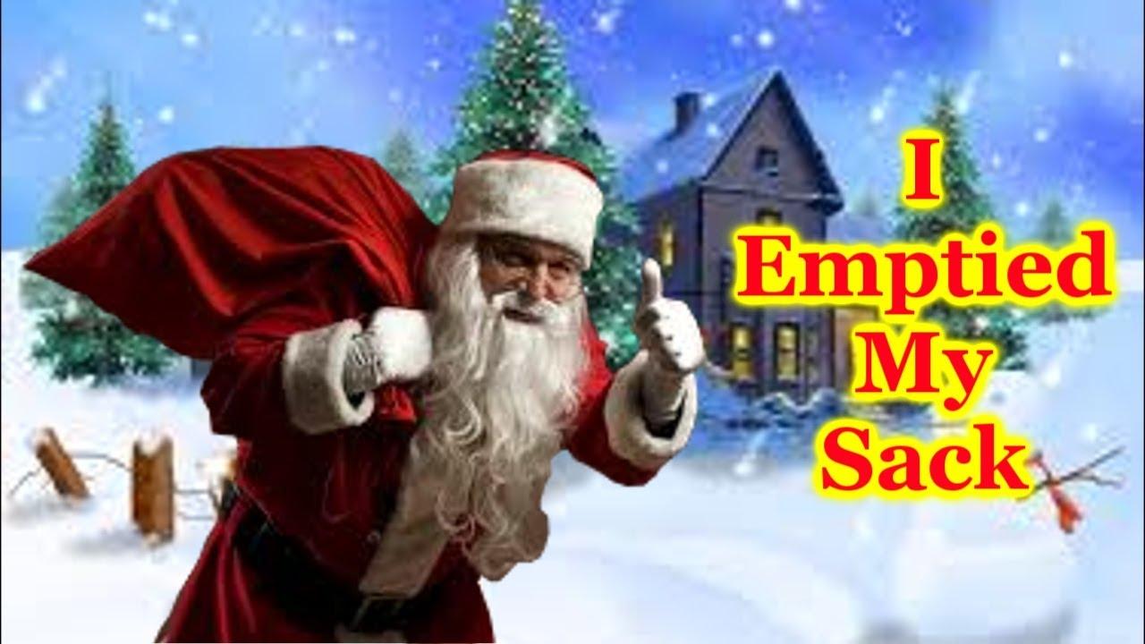 Santa Emptied His Sack, Happy New Year