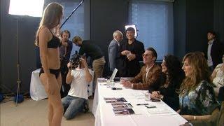 Inside Victoria's Secret's Fashion Show Casting