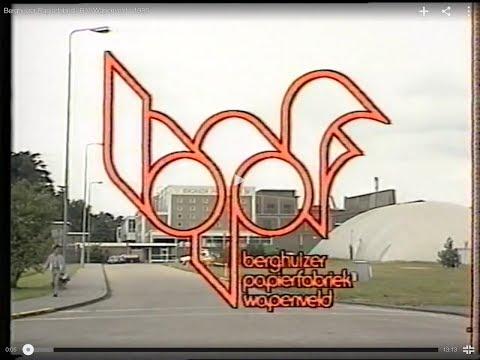 Berghuizer Papierfabriek B.V. Wapenveld - 1985