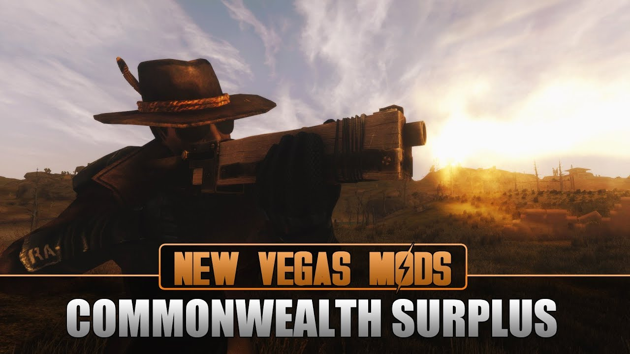 Commonwealth Surplus - Fallout New Vegas Mod on