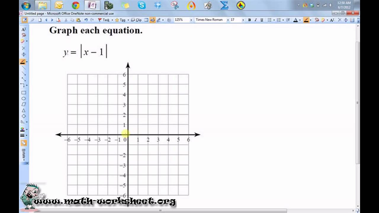 worksheet Graphing Absolute Value Equations Worksheet Answers algebra linear equations and inequalities graphing absolute value easy math worksheets
