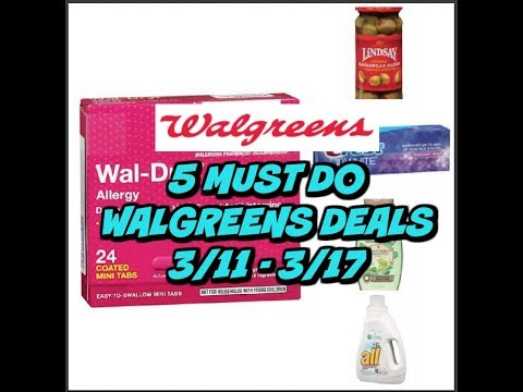 5 MUST DO WALGREENS DEALS 3/11 - 3/17 ~ Cheap allergy relief, Crest & more!
