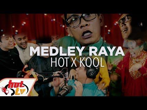 Medley Lagu Raya Hot FM X Kool FM - Tak boleh balik raya... #SayangRaya #SyukurSelalu