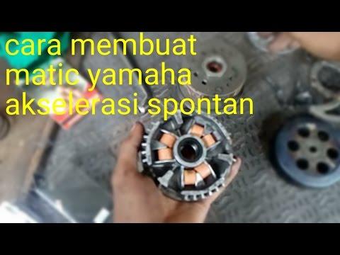 Cara agar motor matic spontan tarikan pertama