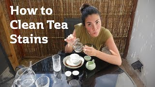 How to Clean Tea Stains | A Simple Guide to Cleaning Your Teaware