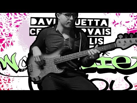 David Guetta, Cedric Gervais & Chris Willis - Would I Lie To You (Bass & Guitar Cover)