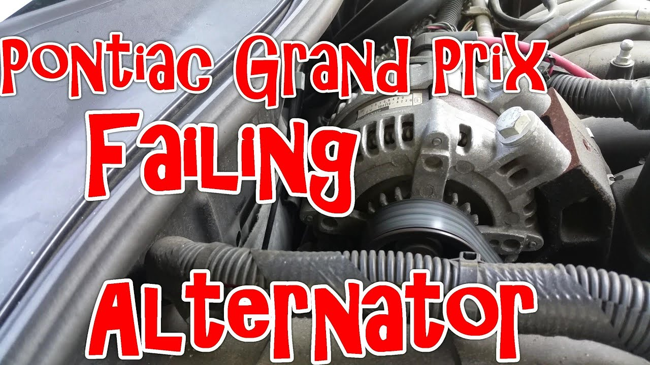 What a failing alternator sounds (and smells) like